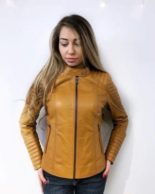 Дамско спортно яке от естествена кожа (MLW-0046)
