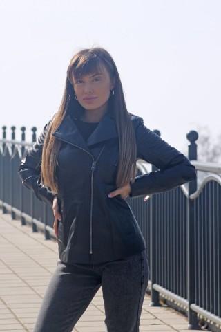 Дамско кожено яке от естествена кожа (MLW-0072)